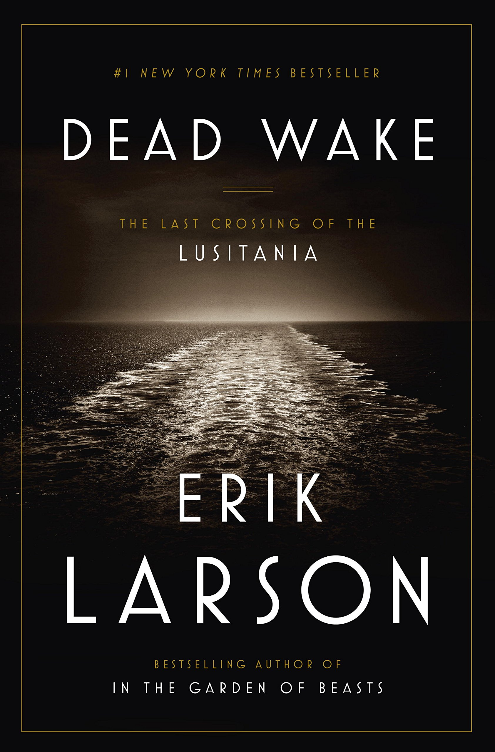Dead Wake Book Cover